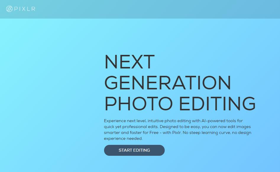 pixlr est comme logiciel photoshop